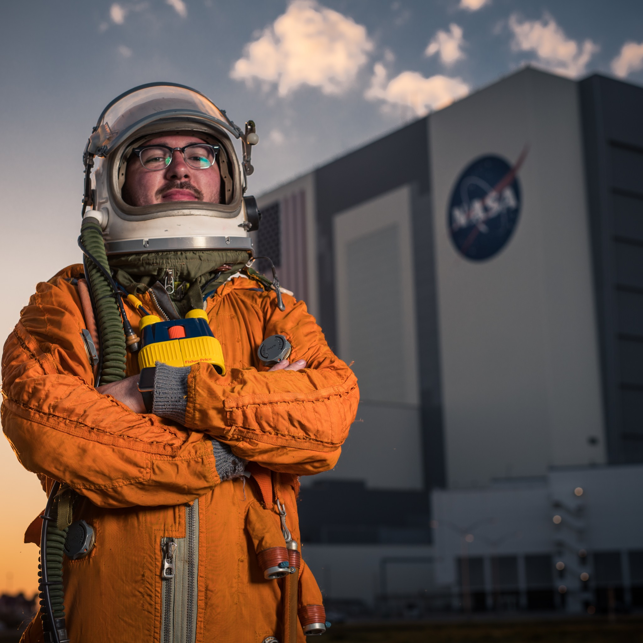 NASA's Vehicle Assembly Building - Kennedy Space Center - Florida Tim Dodd Everyday Astronaut