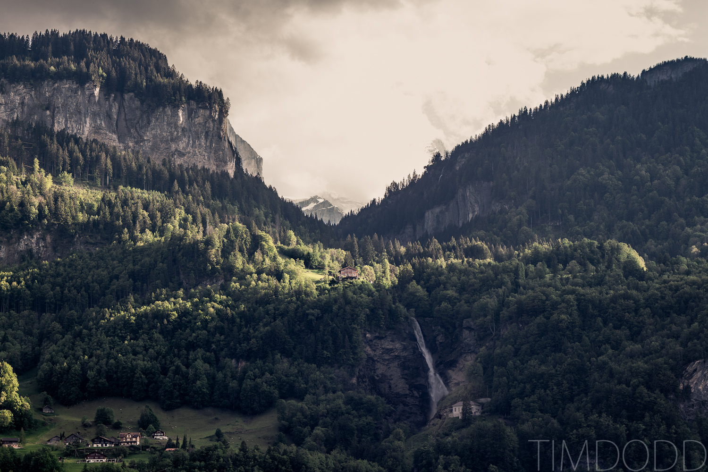 Tim Dodd Photography Cedar Falls Waterloo Iowa Switzerland Mountains light sun peak
