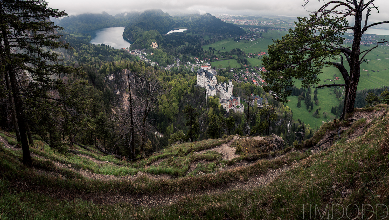 Neuschwanstein Castle, Neuschwansteinstraße, Hohenschwangau, Germany, Tim Dodd Photography, Cedar Falls, Waterlooo, Iowa, travel photographer love wedding castles castle mountain fog. 4
