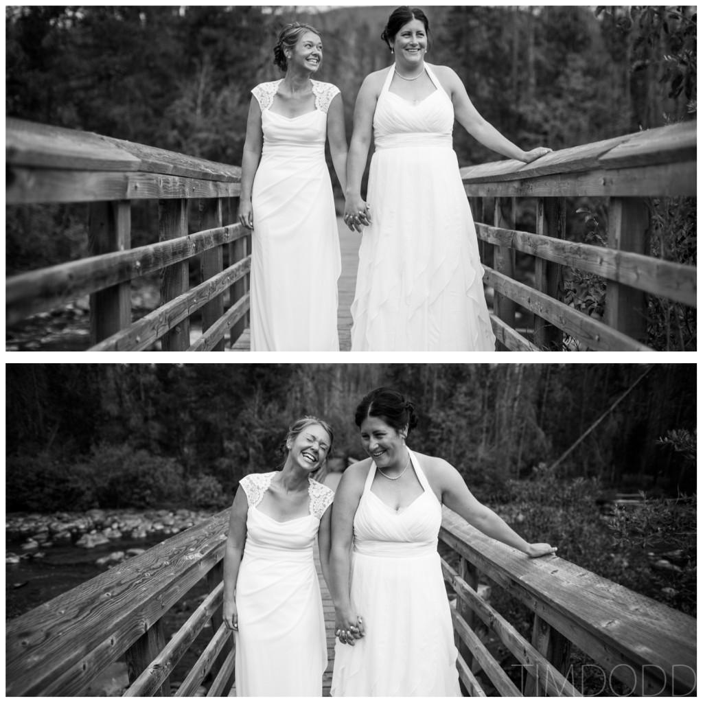 Grand Lake Colorado Denver Boulder Double A Barn summer outdoor wedding Lesbian LGBT same-sex couple Tim Dodd Photography Cedar Falls Waterloo Iowa Midwest professional photographer award winning best international national