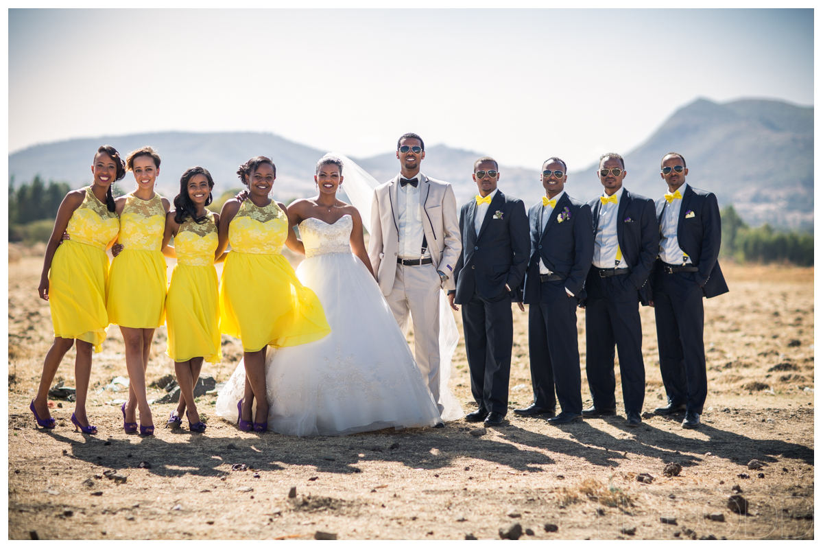 Rediate and Fitsum – Wedding in Ethiopia