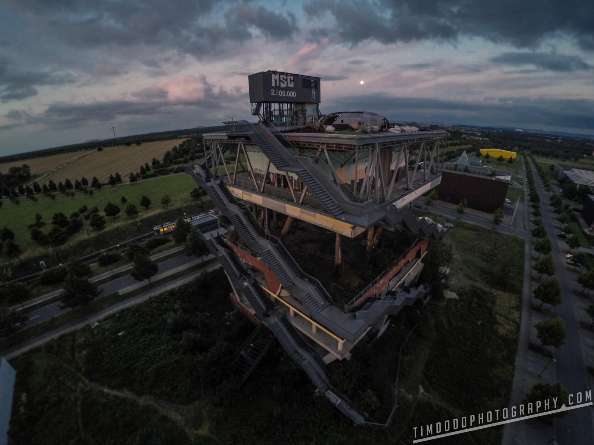 EXPO 2000 Hanover Germany aerial