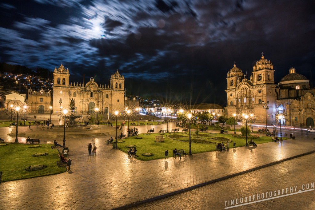 Cusco Peru travel from Cusco to Machu Picchu flights train bus by Tim Dodd Photography Plaza De Armas