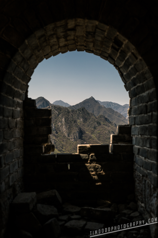 Great Wall of china abandoned Jiu Shui Keng, Huairou Qu, Beijing Shi China best photography hiking tips tourism travel tourist where unrestored untouched ancient by Tim Dodd Photography