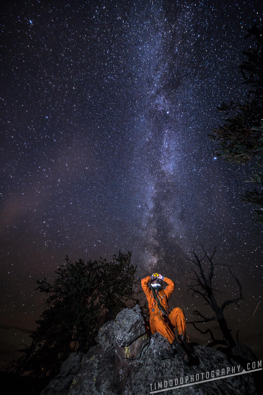 Everyday Astronaut Stars astrophotography night Milky Way galaxy stars long exposure binoculars rock colorado park county best russian space suit Tim Dodd Photography