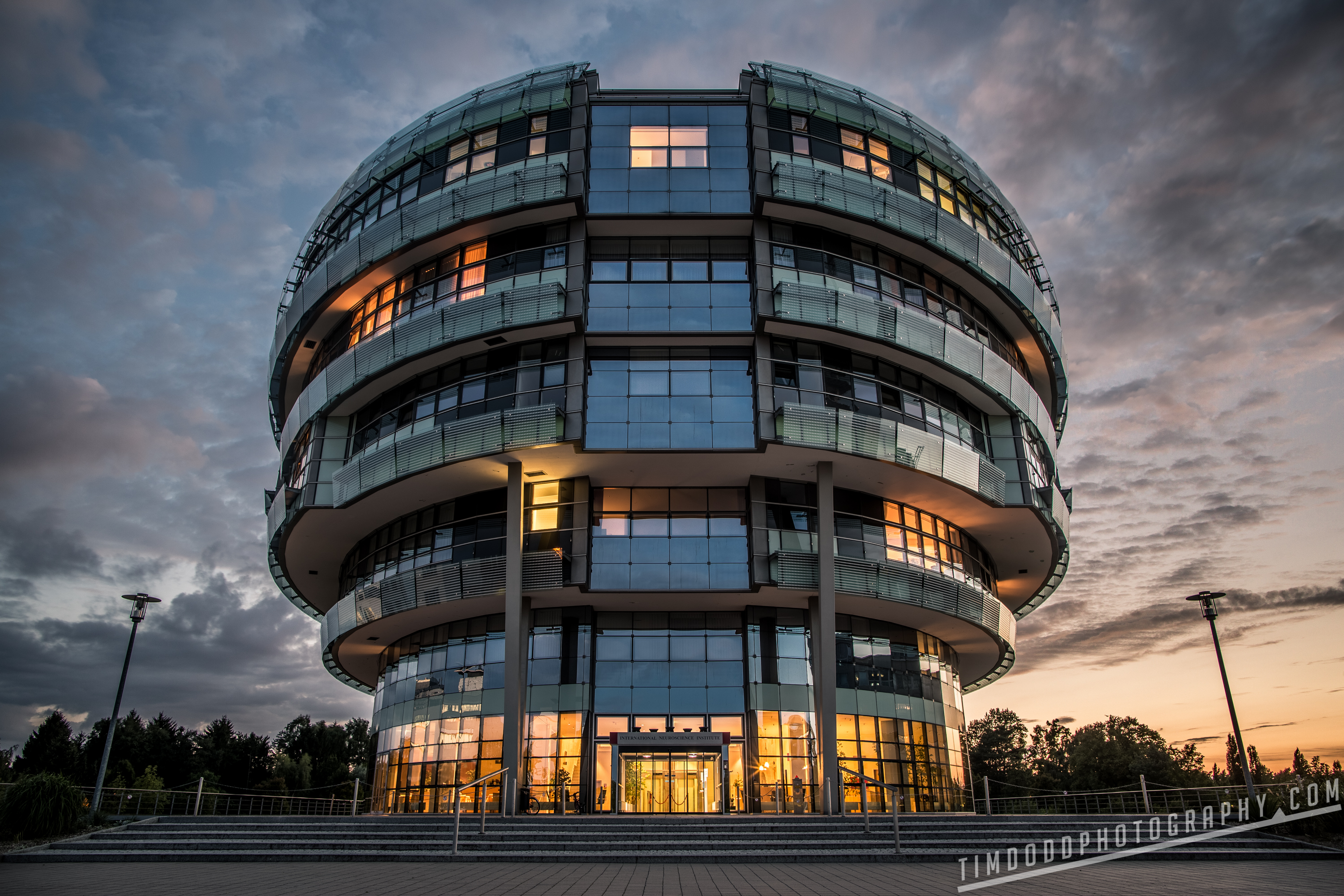 The Brain INI Hannover Hanover Germany at night by Tim Dodd Photography
