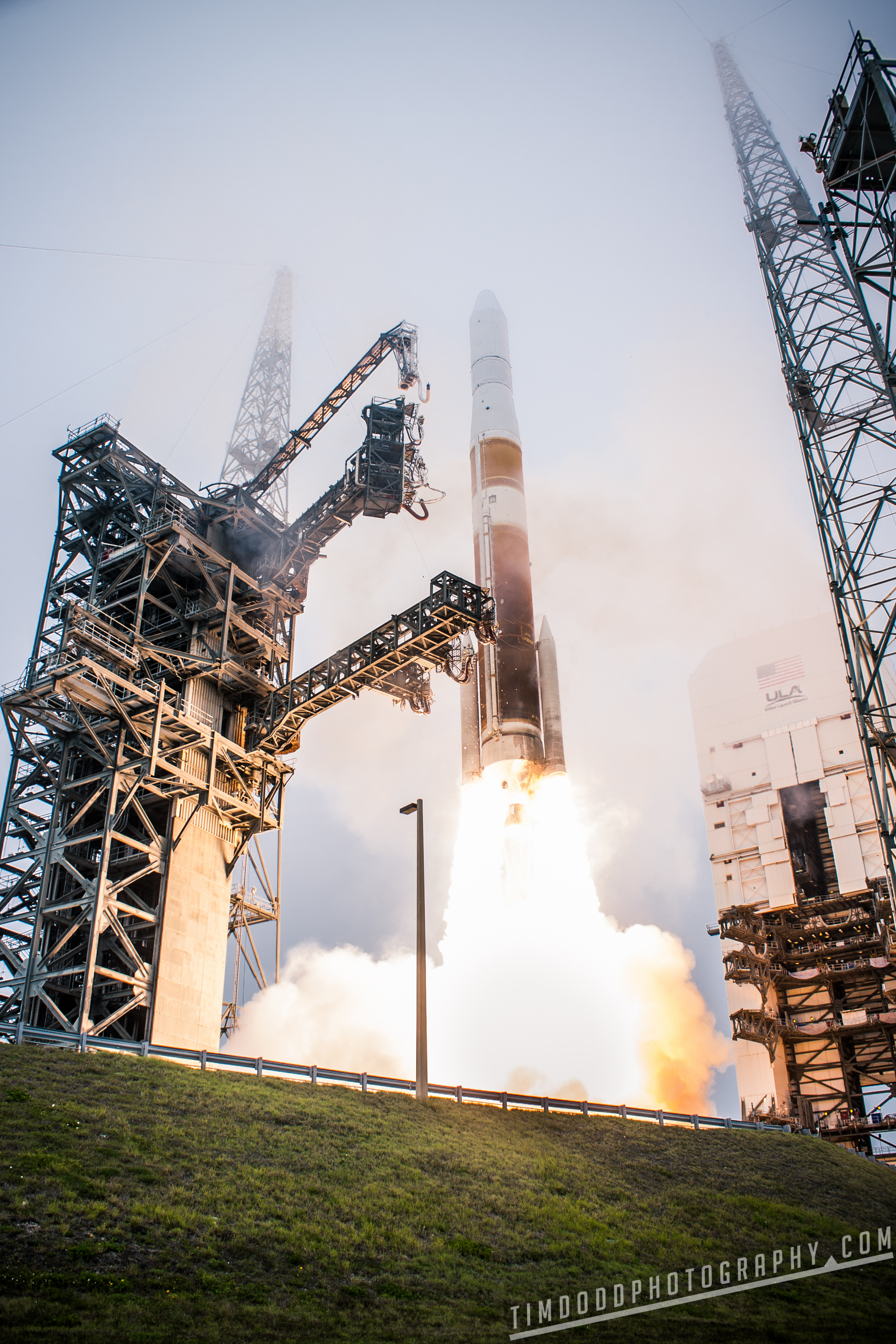 ULA Delta IV GPS Kennedy Space Center Air Force Cape Canaveral AIr Force Base Launch Complex 37 LC37 ULA ATK SRB by Tim Dodd Photography rocket launch
