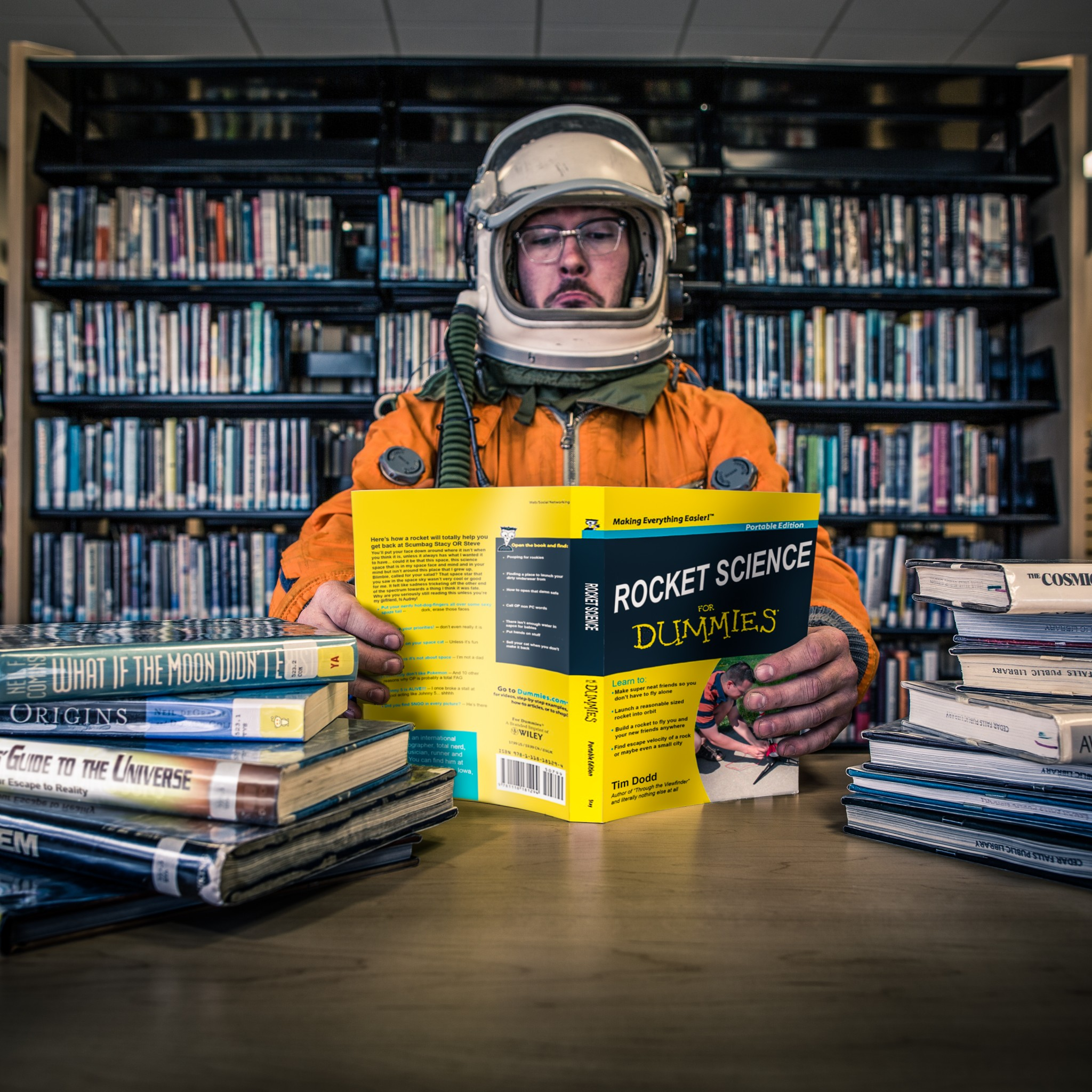 Everyday Astronaut silly space shuttle cosmonaut kosmonaut russian space suit spacesuit humor space galaxies moon by Tim Dodd Photography