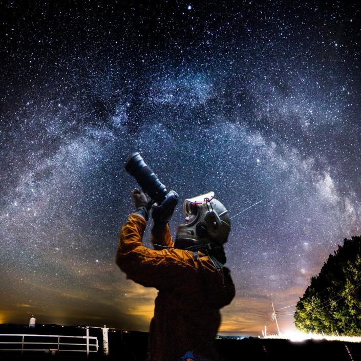 Everyday Astronaut Keep Exploring Friends by Tim Dodd Photography Milky Way Galaxy night stars