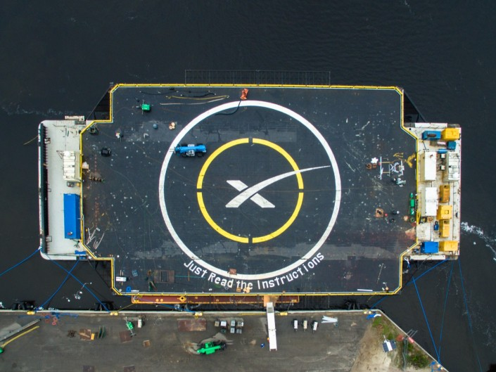 "SpaceX's ""Just Read The Instructions"" Drone Ship"
