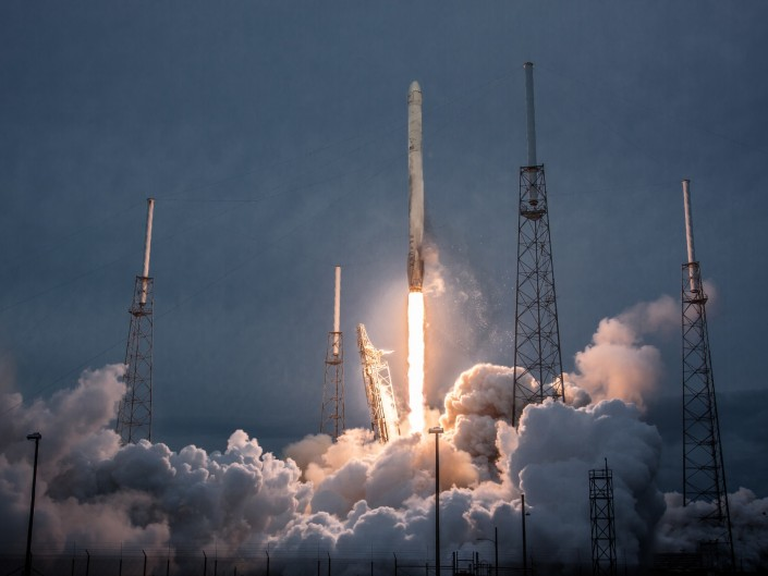 NASA CRS-3 – Dragon/Falcon9 SpaceX, Cape Canaveral, Florida
