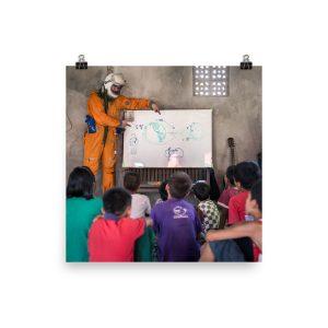 Teaching Orbital Mechanics (Myanmar)