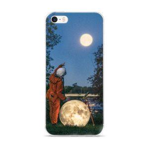 iPhone 5/5s/Se, 6/6s, 6/6s Plus Case (Moon)